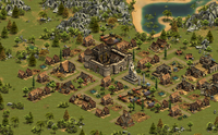 3 Forge Of Empires - Screenshot: Zamek
